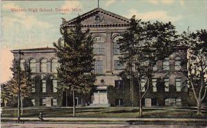Western High School Detroit Michigan 1913