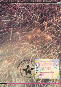AUSTRALIA, 1990´s; Festive Frama, Fireworks