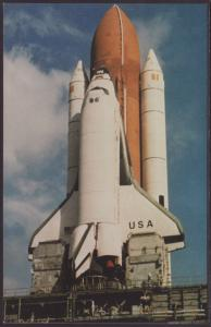 Space Shuttle STS-3 Postcard