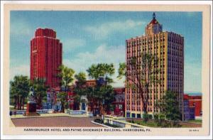 Harrisburger Hotel & Payne-Shoemaker, Harrisburg PA