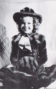 Vintage Arcade Card Shirley Temple