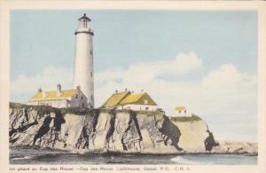 Lighthouse , Cap des Rosier , GASPE , Quebec , Canada , 20-30s