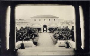 rhodesia, Victoria Falls Hotel (1930s) RPPC