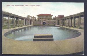 Baumberger Park Bath Pool Dayton OH used 1909
