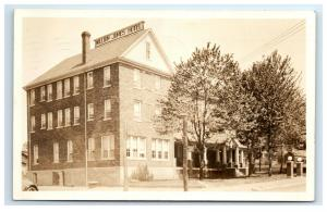 Postcard William James Hotel, Oakland, Maryland MD 1930 RPPC H30