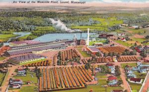 LAUREL, Mississippi, PU-1960; Air View of the Masonite Plant