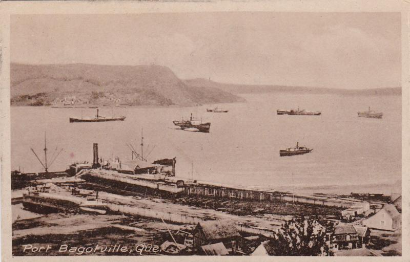 QUEBEC, Canada, 1900-1910's; Port Bagotville