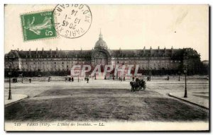 Old Postcard Paris L & # 39Hotel Invalides