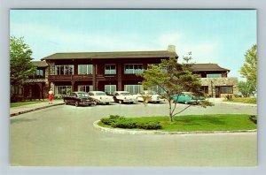 Wheeling WV, Wilson Lodge, Oglebay Park, Chrome West Virginia Postcard