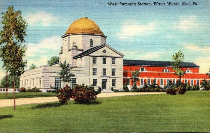 Pennsylvania Erie Water Works West Pumping Station Curteich