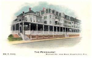 New Jersey Atlantic City , The Pennhurst Hotel