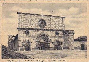 Chiesa Di S. Maria Di Collemaggio, La Facciata (XIII Sec.), L'Aquila (Abruzzo...