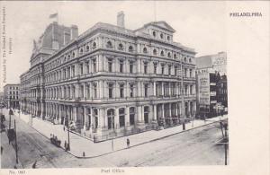 PHILADELPHIA, Pennsylvania, 1900-1910s; Post Office