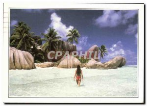 Modern Postcard Seychelles The Royal Cove The Breakwater