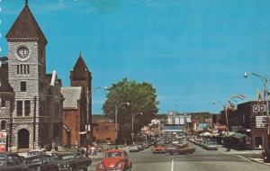 Main Street , MIDLAND , Ontario , Canada , 50-60s