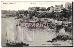 Old Postcard Dinard The Prioress Bay Boat