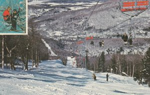 MONT SUTTON , Quebec , Canada , 1960-70s ; Ski Slopes