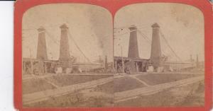 SV: Suspension Bridge over Niagra River , New York , 1876 ; 2/2