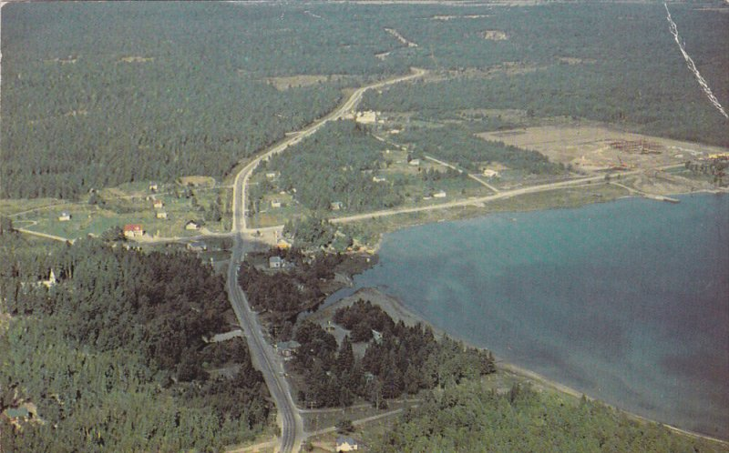 ONTARIO, Canada, 1940-1960's; West Bay, Aerial View