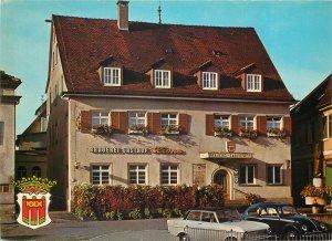 Germany Braueri un Gasthof Krone  Postcard crest