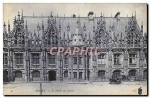Old Postcard Reims The courthouse