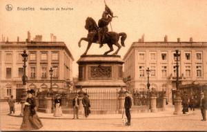 Belgium Brussels Godefroid de Bouillon