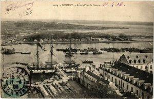 CPA LORIENT - Avant-Port de Guerre (431277)