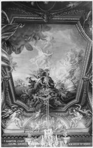 Hampton Court Palace, Ceiling Queen's Berchamber