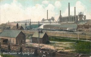 Blast Furnace at Sydney industry