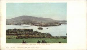 Moosehead Lake ME From McFarlane's c1905 Detroit Publishing Postcard