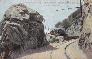 LOS ANGELES, CA, 00-10s; Sentinel Rock, Mt. Lowe Division, Pacific Electric Rail