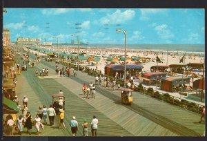 NJ Panoramic View looking down upon the Boardwalk ATLANTIC CITY1968 -1950s-1970s