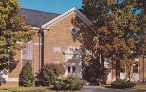 Exterior,  Hardy Library,  Atlantic Christian College,  Wilson,  North Caroli...