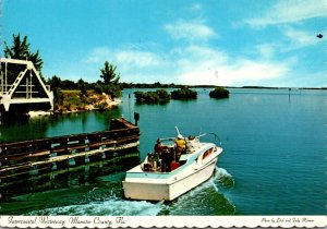 Florida Manatee County Intercoastal Waterway 1974