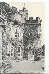 Sussex Postcard - Battle Abbey - A Corner Showing The Oldest Part - Ref 16228A
