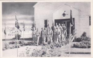 Military Soldiers Leaving The Chapel Fort Dix New Jersey