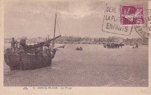 La Plage, Boat, Berck-Plage (Pas-de-Calais), France, 1926