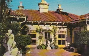 California San Simeon The Courtyard Hearst Castle