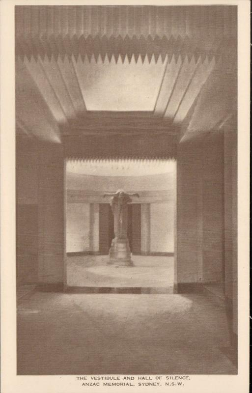 Vestibule Hall of Silence Anzac Memorial Sydney