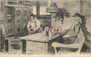 Old Postcard Quimper Musee Departemental Breton Le Breton Costume