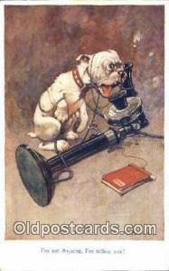 Artist Studdy Postcard Bonzo Dog Post Card Old Vintage Antique Series 1002 ...