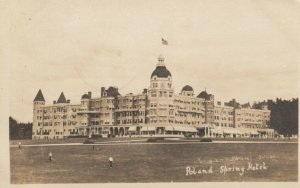 RP: SOUTH POLAND , Maine , 1912 ; Poland Spring Hotel