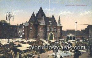 Nieuwmarkt Amsterdam Netherlands Unused