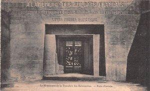 Le Monument de la Tranchee des Baionnettes France Unused