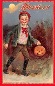 Halloween Post Card Old Vintage Antique Brundage Unused
