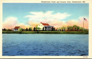 Maryland Chestertown Yacht and Country Club Curteich