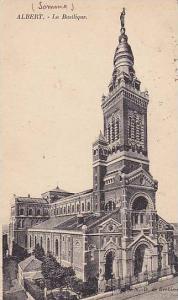 La Basilique, Albert (Somme), France, PU-1925