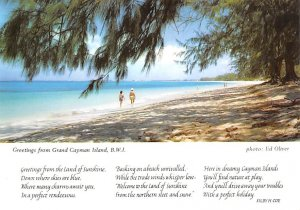Grand Cayman Islands Post card Old Vintage Antique Postcard Greetings From Gr...