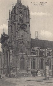 ELBEUF, France, 1910-1920s, Eglise St-Jean