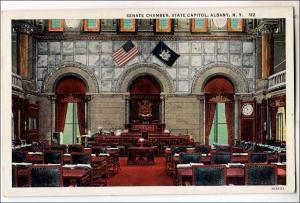 NY - Albany. Senate Chambers, State Capitol